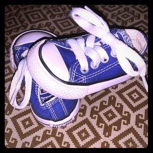 Infant Converse Blue Size 2